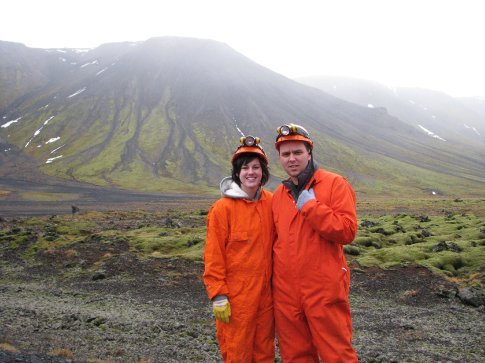 teletubbies.....go caving the creepy lava fields behind us