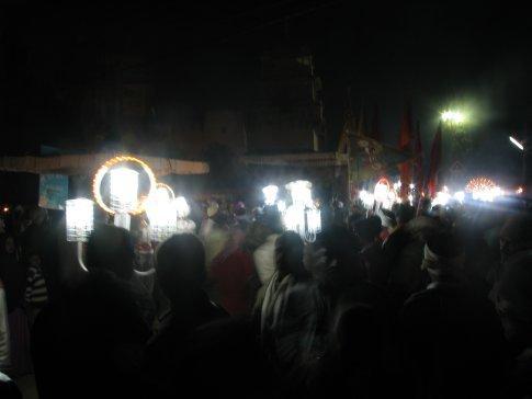 the light parade