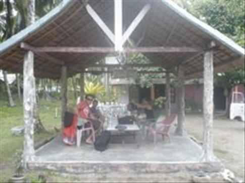 The hut at Uncle Jacks, Padang