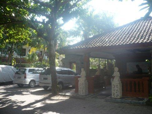 Reception at Sinar Bali Hotel