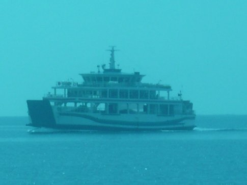 View of the ferry