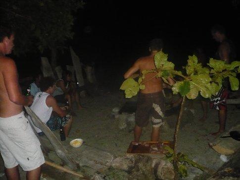 BBQ on Sumbawa