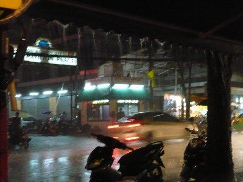 More rain at Pat Pong Road