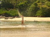 walking across the sea to the secret beach- Palolem: by jessica, Views[895]