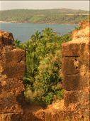 Fort somewhere between Agonda beach and Arambol beach: by jessica, Views[259]