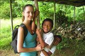 Local village children with a previous VESA volunteer.: by jessicadale, Views[2355]