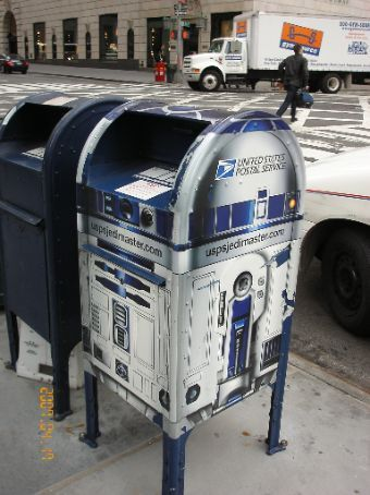 Is it a postbox or is it R2D2?