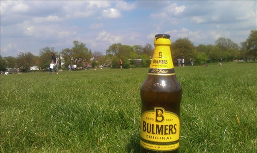 Cider, Football and Tooting Bec Common... could we be more English right now?