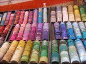 Bangles at a stall at Anjuna flea market: by jessikat, Views[670]