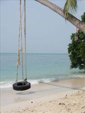 Haad Leela, our nearest beach, Haad Rin: by jessikat, Views[2944]