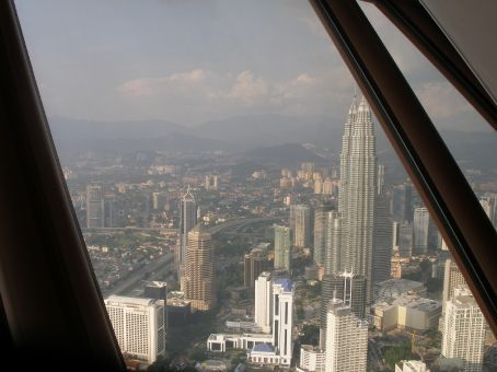 Another view from the KL tower observation deck