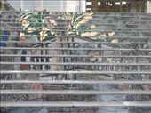 Mural on a shopping centre staircase in Melaka: by jessikat, Views[427]