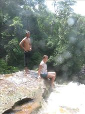 Sitting on the ledge of the waterfall. I think Stephen has a photo of me there.: by jfernandes, Views[248]