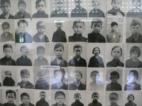 Child-prisoners at S21 (who would have subsequently been executed).