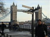London Bridge from London Tower entrance: by jgl97, Views[143]