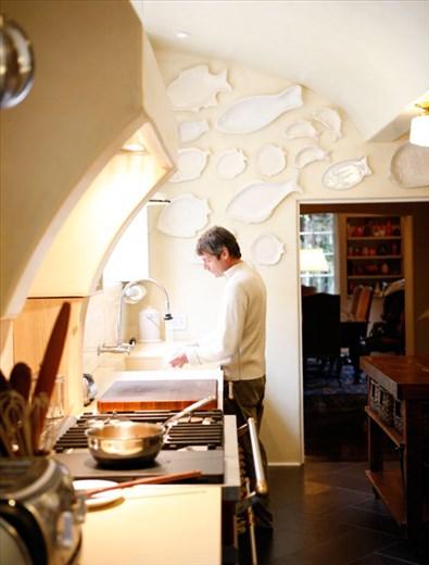 Greg Henry in Kitchen