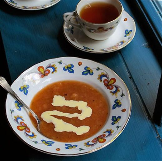 Plum Porridge in Norway
