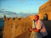 On the battlements of the Rabat Kasbah: by jimandnicadventure, Views[463]