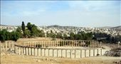 The Romn Colannade at Jerash: by jimandnicadventure, Views[389]