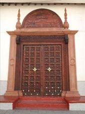 A Swahili door: by jimboandjanet, Views[260]