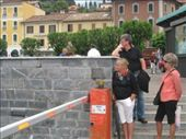 Lake Como - waiting for the ferry at Bellagio: by jimboandjanet, Views[200]