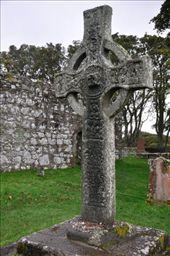 Islay - ancient cross at Kildalton Church: by jimboandjanet, Views[113]