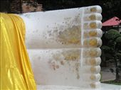 The Reclining Buddha even has a golden pedicure!: by jlessing, Views[144]