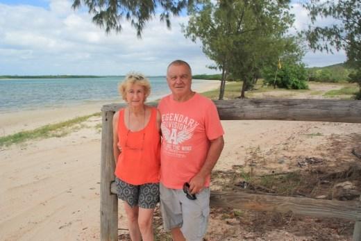Jenny and I at Daliwuy Beach