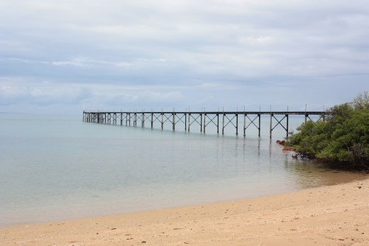 The disused pier at Blacks Point on Cobourg Peninsular