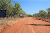 The sign welcoming travellers to the NT - we had just left: by jmandjm, Views[84]