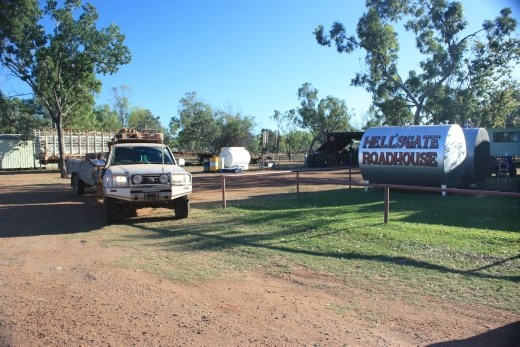 Just to prove - we were at Hells Gate Roadhouse!