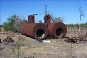 The remains of the 2 main boilers at the boiling down works at Burketown: by jmandjm, Views[105]