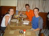 Matthew, Leah & I having well deserved Indian @ Khyber Pass Mess Club (Hong Kong, not Himalayas): by jmasselink, Views[686]