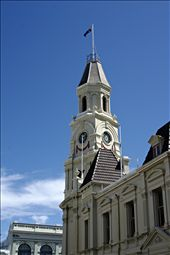 The old but now restored Fremantle Town Hall: by jnix, Views[211]