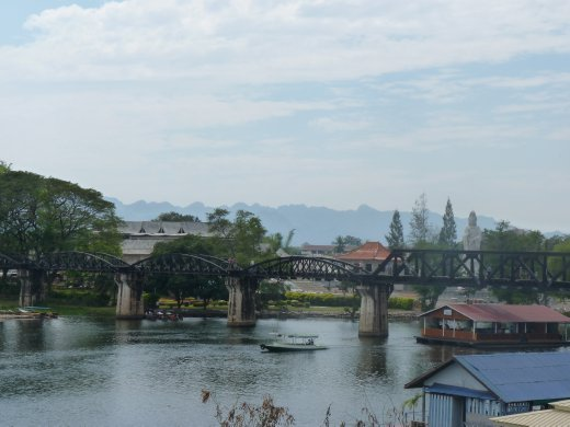 The bridge over river Kwai - a humbling experience...