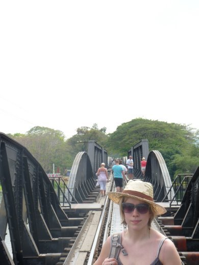 Joey on the Bridge