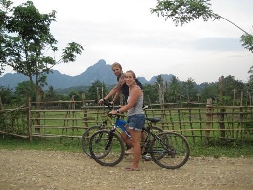 our transport to and from the blue lagoon.. a very hot cycle...!!!