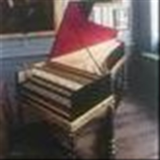 Handel's harpsichord - replica