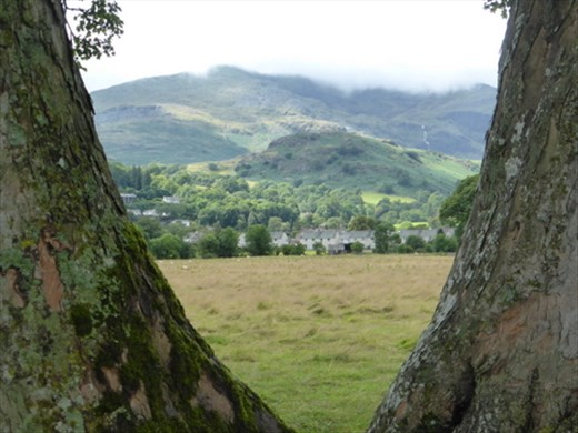 View of the hills from Coniston Water