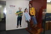 Joannah in tilted room at Puzzle World in Wanaka: by joannah_metz, Views[850]