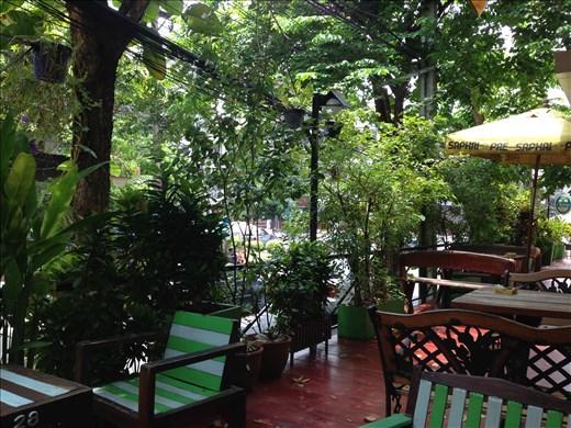 Lunch at hostel in Bangkok