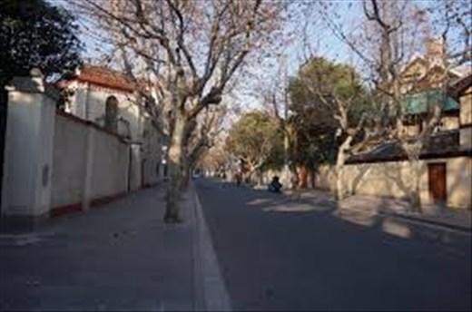 Wukang road in winter
