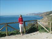Teresa overooking the Med. near Nerja: by johnandteresa, Views[170]