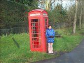 Teresa with Phone Box in Cambridge: by johnandteresa, Views[166]