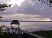 Lake Peten Itza as seen from El Remate: by johnbmullen, Views[153]