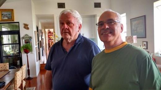 Michael Bugler and Phillip Evinson