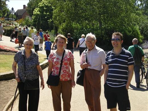 Marion, Susan, Cyril, Joel - Colchester