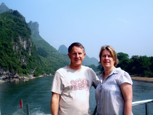 Cruising on the Li River, Guilin