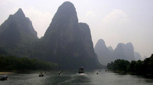 Karst Mountains, Li River, Guilin
