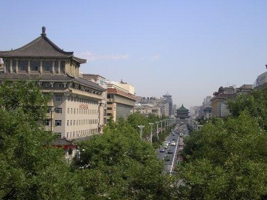 Main street, Xi'an